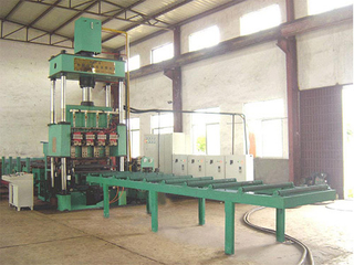 Steel Grating Fence Machine